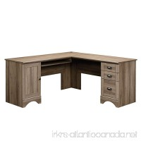 Sauder 417586 Harbor View Corner Computer Desk A2 Salt Oak - B00UXMWIIC
