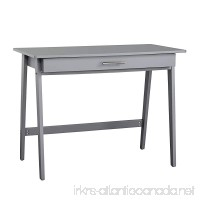 Target Marketing Systems 60707GRY Renata Wooden Home Office Desk  Gray - B07DSG61RZ