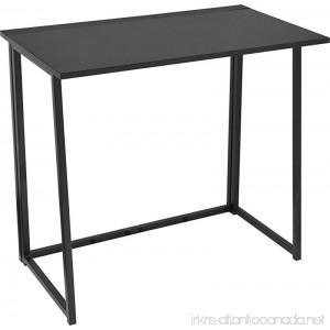 Urban Shop 47923 Folding Writing Desk Black - B01M0MW8RB