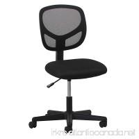 Essentials Swivel Armless Mid Back Mesh Task Chair - Ergonomic Computer/Office Chair (ESS-3000) - B01G2ELLGY