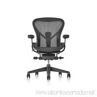 Herman Miller Aeron Chair  Size C  Graphite - B01N32UFNT