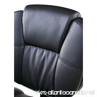 OneSpace Basics Mid-Back Plush Task Chair  Tilt & Height Adjustment - B073SMJN8S