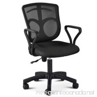 Yaheetech Mid-Back Mesh Chair Mesh Computer Desk Task Ergonomic Chair - B071JRBZNK