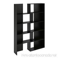 Ameriwood Home Transform Expandable Bookcase  Black Oak - B00X7Z6Q3U