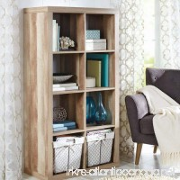 Better Homes and Gardens 8-cube Organizer Creates Multiple Storage Solutions Horizontal or Vertical Display (Weathered) - B01NABB2AQ