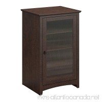 Bush Furniture Buena Vista Media Cabinet in Madison Cherry - B00Q07SBH6