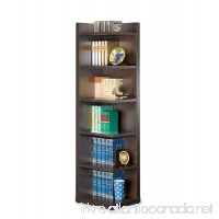 Coaster Transitional Cappuccino Corner Bookcase with Open Side - B008YLNYY6