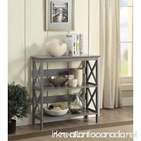 Convenience Concepts Oxford 3-Tier Bookcase Gray - B074T5KFT9