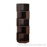 Furniture of America Bassey 5-Shelf Bookcase Display Stand  Espresso - B00KNOAKXA
