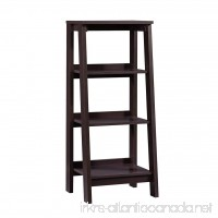 Sauder 414565 Bookcases  Furniture Trestle Jamocha Wood 3-Shelf - B00LI4QT3Y