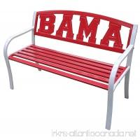 Leigh Country University of Alabama BAMA Metal Bench - B00MPU3HFI