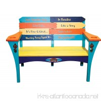 "Margaritaville Outdoor ""Southern Most Pt."" Bench - B01NBE1HDH"