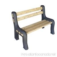 RTS Home Accents DIY Plastic Bench Ends  Black (Wood & Screws Sold Separately) - B01M74V4U7