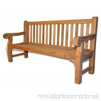 Teak Hyde Park Bench 6 Ft - B00RIBQRTC