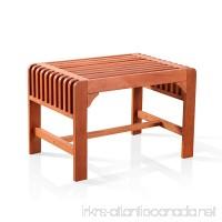 Vifah V1398 Backless Single Bench - B00DW3LNQW
