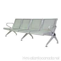 Walcut New 4-Seat Waiting Chair Airport Clinic Bench Office Reception Room Salon Long Chair Seats - B07BCZ5VGW