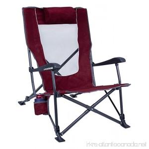 GCI Outdoor Low-Ride Reclining Camping Chair - B018MMISQK