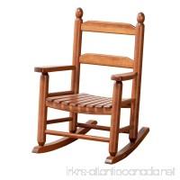B&Z KD-20N Classic Wooden Child's Porch Chair Rocking Rocker Natural OAK Ages 4-8 - B07BBK4RQJ