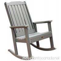 Highwood Lehigh Rocking Chair Coastal Teak - B007XP65BS