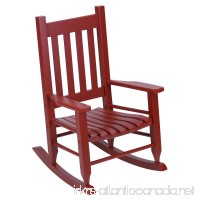 Hinkle Chair Company Plantation Child's Rocking Chair Red - B01D3K1O4Y