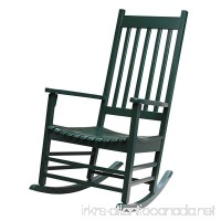 International Concepts R-51865 Porch Rocker Hunter Green - B0010T0GQ8