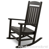 Ivy Terrace IVR100BL Classics Rocker Chair  Black - B00BQBD9QE