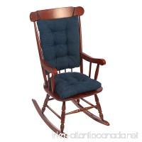Klear Vu Twillo Rocking Chair Pad Set Indigo - B077NYZJVQ