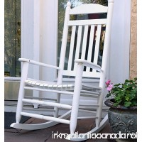 Oliver and Smith - Nashville Collection - Heavy Duty Wooden White Patio Porch Rocker- Rocking Chair - Made in USA - 26 W x 34 D x 47 H - 400 LBS - B07585VN3F