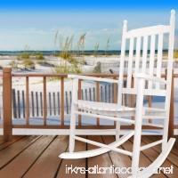 Yankee Trader Hyannis Port All Season Outdoor Wood Rocking Chair White - B01FGIEFWY