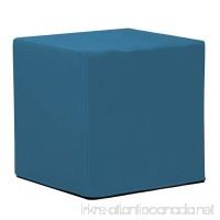 Howard Elliott Q850-298 No Tip Block Patio Ottoman Seascape Turquoise - B00XBM5838
