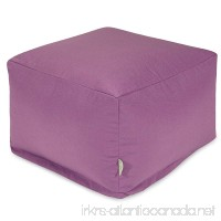 Majestic Home Goods Ottoman Large Lilac - B00NC2N3N4