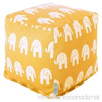 Majestic Home Goods Yellow Ellie Small Cube - B00HJHUWD2