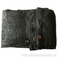 30% UV Shade Cloth Black Premium Mesh Shadecloth Sunblock Shade Panel 20ft x 10ft Top Quality - B015GUN62M