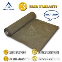 Alion Home HDPE Shade Fabric Cloth 95% UV Block. (5'x 50') (Mocha Brown) - B01HKA5PES