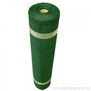 Coolaroo Light Shade Fabric Roll 12ft by 50ft Forest Green - B0037M8AB4
