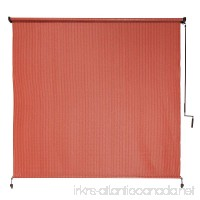 Coolaroo Outdoor Cordless Roller Shade 8ft by 6ft Terracotta - B00LTONMJM