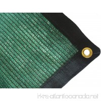 DIR 70% UV Shade Cloth Green Premium Mesh Shadecloth Sunblock Shade Top Quality Panel 12ft x 10ft - B01LXI3BEY