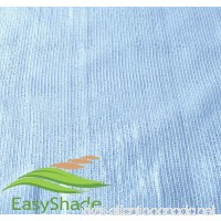 EasyShade 80% Heavy Duty Sunscreen White Shade Cloth UV Fabric (14ft x 10ft) - B06WWC48FY