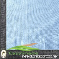 Easyshade 80% Heavy Duty White Shade Cloth Taped Edge With Grommets UV (14Wx12L White) - B01KMW4PN8