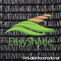 EasyShade Black 40% Shade Cloth UV Resistant Fabric 6ft x 50ft Clips Free - B00E0DWSP8