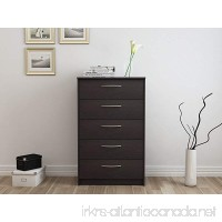 Homestar Finch 5 Drawer Chest 27.5 x 15.63 x 44.5 Espresso - B013V472XE