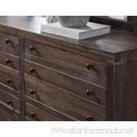 Modus Furniture 8T0682 Townsend Eight-Drawer Solid Wood Dresser  Java - B06XRBPJGY