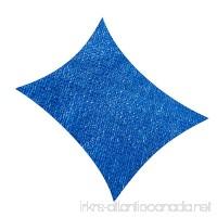 Cool Area Rectangle 9'10'' X 13' Sun Shade Sail  UV Block for Outdoor Patio Garden in Color Blue - B00T71UL3E