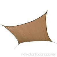 ShelterLogic 25722 12'x12' Square Sand Sun Shade Sail - B004C8DTEA