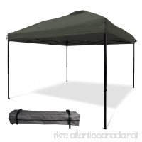 10'x10' Pop UP Canopy Tent Instant Shelter Straight Wall with Wheeled Carry Bag - B06XHYYXNC