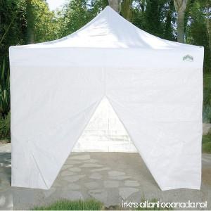 Caravan Canopy 10-Feet Canopy Sidewall Kit for Caravan Display Shade and Aluma Shade Models White - B002XDT4HW