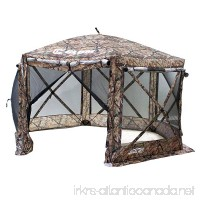 Clam Quick-Set Pavilion Screen Shelter  12.5' X 12.5' - Camouflage/Black Mesh  Camouflage - B01MYF6KVJ