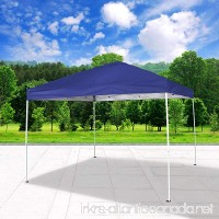 Cloud Mountain Pop Up Canopy Tent 118 x 118 UV Coated Outdoor Garden Instant Canopies Tent Easy Set Up With Carry Bag Blue - B075CZ5HVF