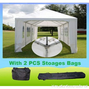 DELTA Canopies WDMT1230-12'x30' Wedding Party Tent with Metal Connectors - B071DXPXF5