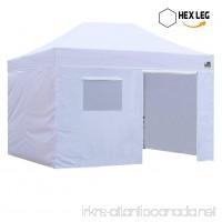 Eurmax Premium 10x15 Pop up Canopy Instant Outdoor Party Tent Shade Gazebo w/4 Removable Enclosure Zipper End Sidewalls Walls +Roller Bag… - B00FYLOTPW
